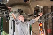 Brueckenfestival 2014 - Flying Penguin - Lenz Franzke V