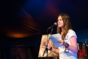 Brueckenfestival 2014 - Poetry Slam - Celine Petrenz