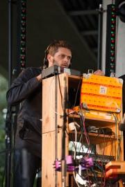 Brueckenfestival 2014 - Bambi Davidson - Lars Fischer II