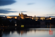 Prague 2014 - Prague Castle @ Sunset
