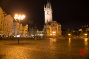 Prague 2014 - Townhall & Old Town Square by Night