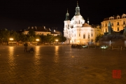 Prague 2014 - St. Nicholas Church & Old Town Square by Night