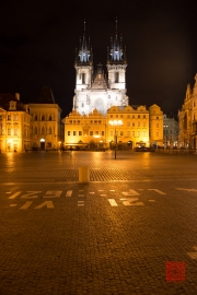 Prague 2014 - Tyn Church by Night