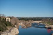 Nimes 2014 - Aqueduct - River