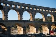 Nimes 2014 - Aqueduct - Aqueduct Piles