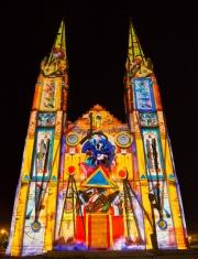 Nimes 2014 - Eglise Saint Baudile - Modern Art