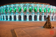 Nimes 2014 - Arena - Lightblue & Green