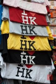 Hongkong 2014 - Street Market - I Love HK