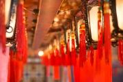 Hongkong 2014 - Man Mo Temple - Lanterns I