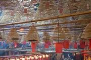 Hongkong 2014 - Man Mo Temple - Incense canes