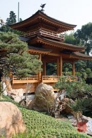 Hongkong 2014 - Nan Lian Garden - Wooden Bridge