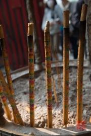 Macau 2014 - A-Ma Temple - Incense sticks I