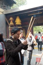 Macau 2014 - A-Ma Temple -Prayers