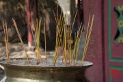 Macau 2014 - A-Ma Temple - Incense sticks II