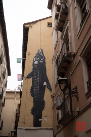 Saragossa 2014 - Street Art - Fish