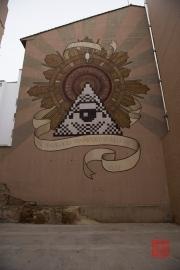 Saragossa 2014 - Street Art - Technologia