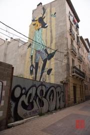 Saragossa 2014 - Street Art - Deer