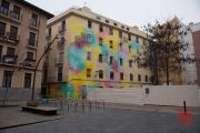 Saragossa 2014 - Street Art - Brush Pattern