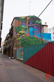 Saragossa 2014 - Street Art - Forest
