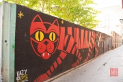Saragossa 2014 - Street Art - Tiger
