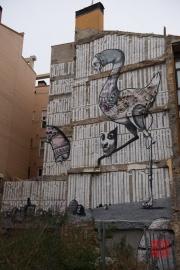 Saragossa 2014 - Street Art - Fantasy Animal