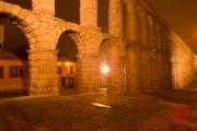 Segovia 2014 - Aquaduct by Night