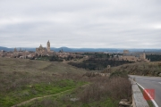 Segovia 2014 - View Cathedral & Castle