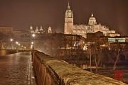 Salamanca 2014 - Cathedral & Bridge by Night