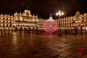 Salamanca 2014 - Plaza by Night Longexposure