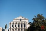 Madrid 2014 - Horse Scuplture & Moon