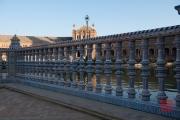 Seville 2015 - Plaza de Espana - Tiled Balustrade