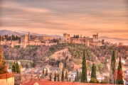 Granada 2015 - Alhambra - Sunset