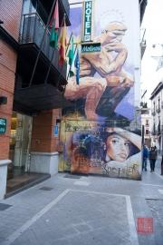 Granada 2015 - Graffiti - Thinking Man