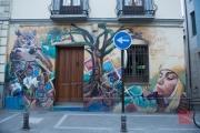 Granada 2015 - Graffiti - Owl & Girl