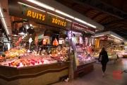 Barcelona 2015 - Market - Fruits & Sausages