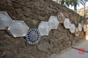 Barcelona 2015 - Park Guell - Wall