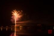 Nuremberg Spring Fair Fireworks 2015 - Gold & Red II