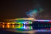 Nuremberg Spring Fair Fireworks 2015 - Afterlights
