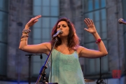 St. Katharina Open Air 2015 - Yasmine Hamdan - Yasmine Hamdan X
