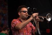 Bardentreffen 2015 - Chico Trujillo - Trumpet I