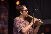 Bardentreffen 2015 - Chico Trujillo - Saxophone II