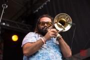 Bardentreffen 2015 - Chico Trujillo - Trombone I