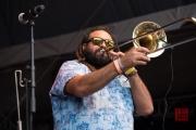 Bardentreffen 2015 - Chico Trujillo - Trombone III