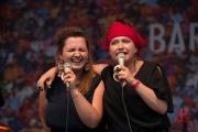 Bardentreffen 2015 - Dikanda - Ania & Kasia