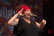 Bardentreffen 2015 - Dikanda - Ania Witczak III
