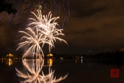 Volksfest 2015 - Opening Fireworks - Silver I
