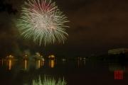 Volksfest 2015 - Opening Fireworks - Green