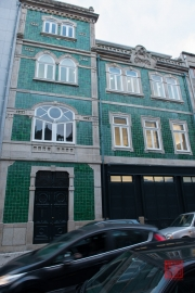 Porto 2015 - Green Facade of Tiles