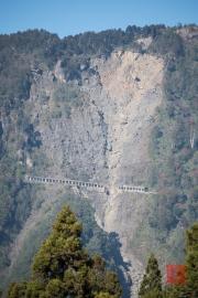 Taiwan 2015 - Alishan - Landslide