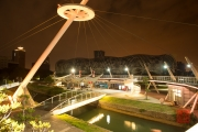 Taiwan 2015 - Kaohsiung - Bridge - Orange